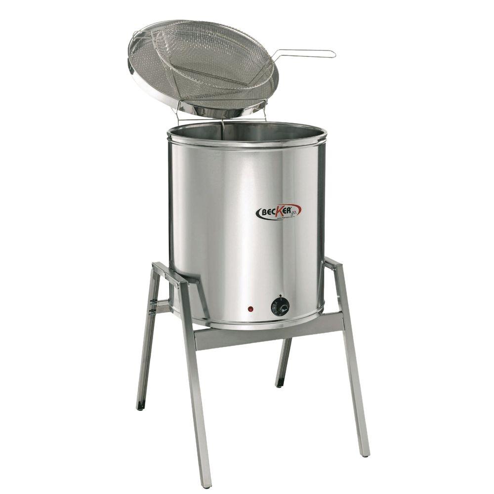 Fritadeira Elétrica Água e Óleo 25 Litros 5000w 220V Becker