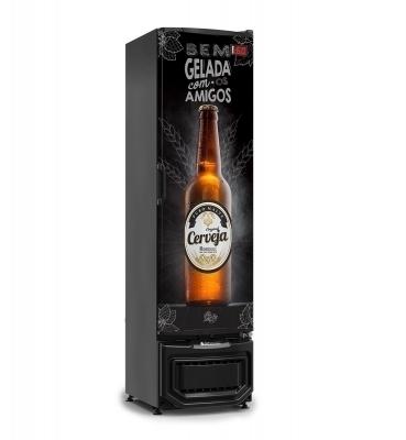 Cervejeira  Slim 230 Litros Gelopar