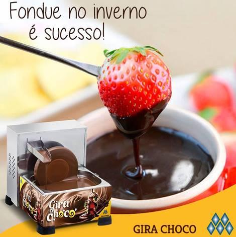 Derretedeira de Chocolate  Industrial mod. Gira Choco 5Kg Marchesoni