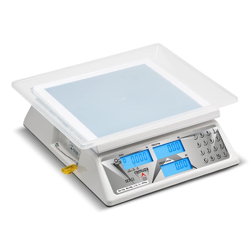 Balança Digital Computadora Back Light Ramuza