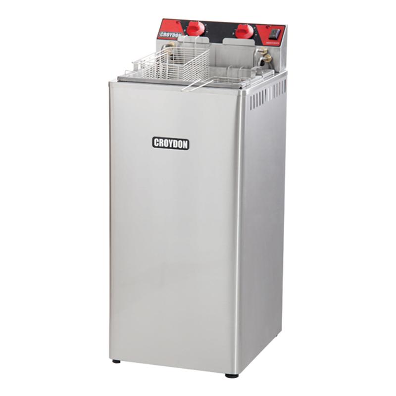Fritadeira Elétrica Água e Óleo 18 Litros 8000w  220v Croydon