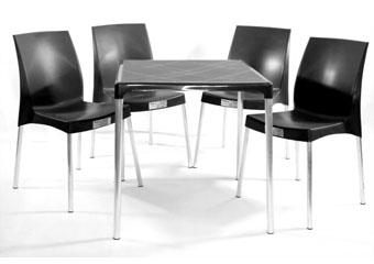 Jogo de Mesa e Cadeiras Jasmim Planmar